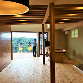 オープンハウス 小森昌章建築設計事務所