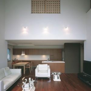 伊敷台木格子の家