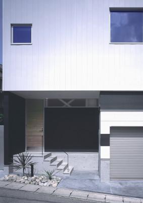 皷川の家 エントランス