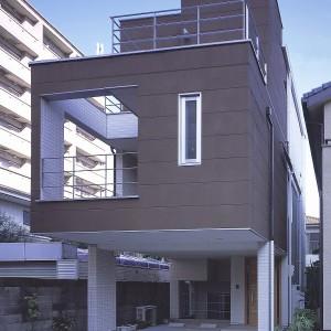 西田のスキップフロアーの家