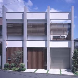 紫原コンクリート柱の家