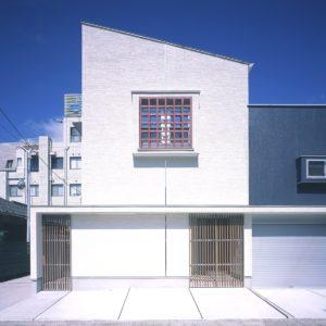 上之園のスキップフロアの家