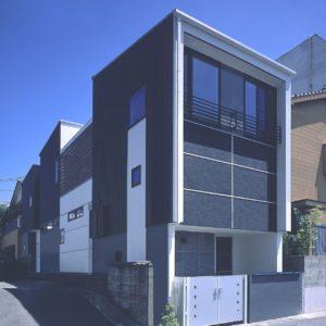 薩摩川内スキップフロアーの家